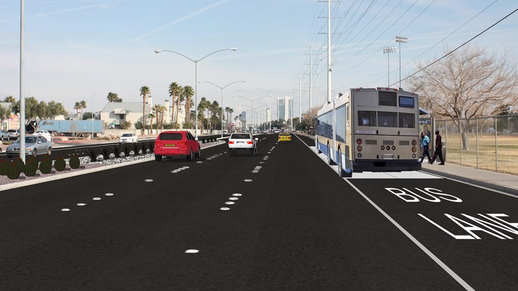 Flamingo Rd. Rendering